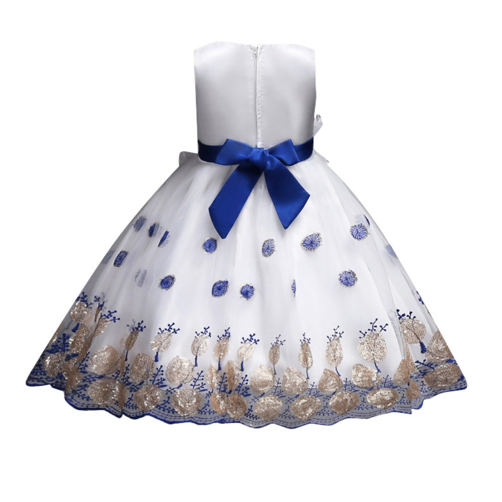 ae434bee37cf Hougood Girls Dresses Prom Dresses for Kids Flower Girl Fancy Party Dress  Princess Dress up Summer Occasion Dresses Tutu Dresses 2-13 Years  Sleeveless ...