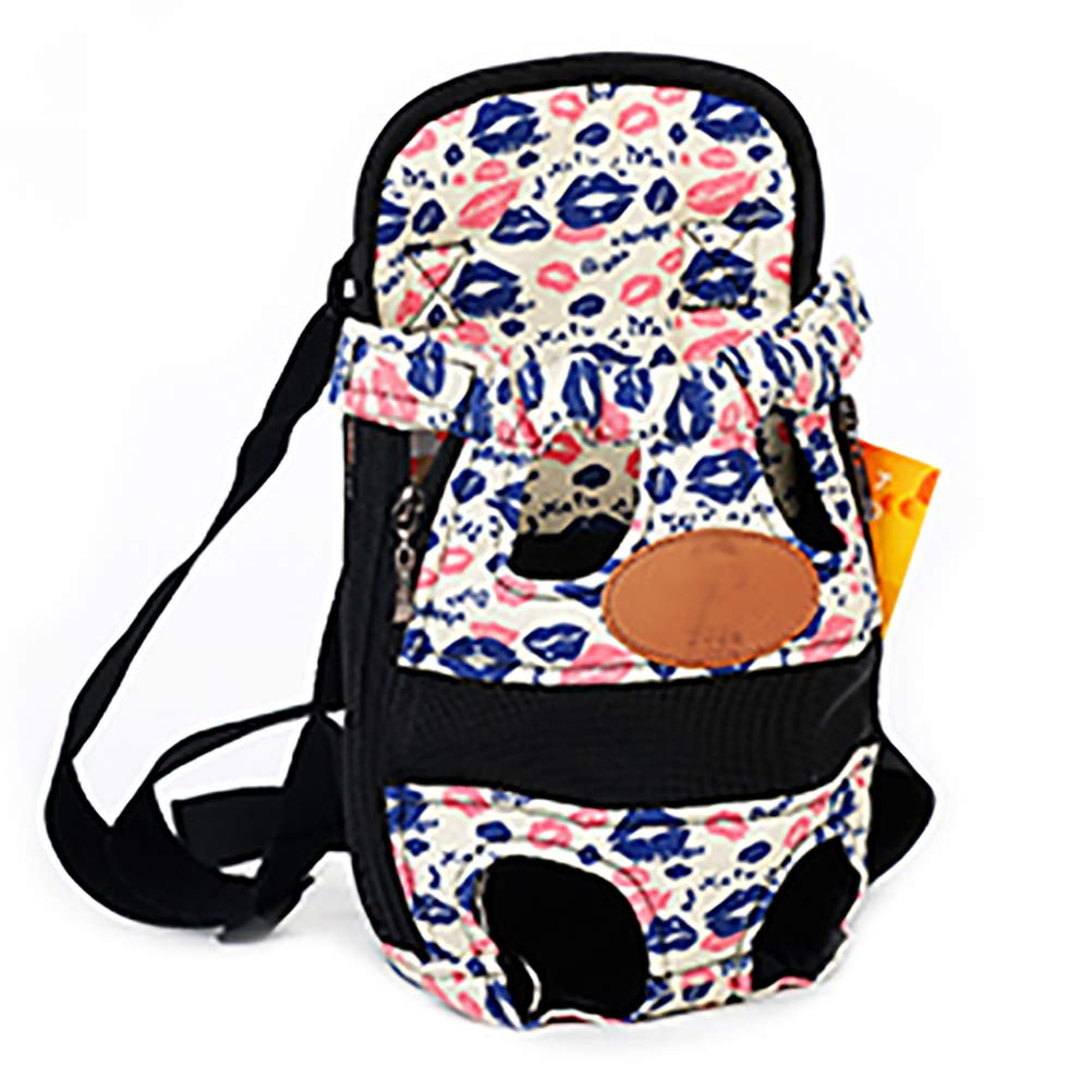 A Medium A Medium Pet Carrier Backpack Adjustable Pet Front Dog Cat Legs Out Chest Backpack,Hands-Free for Hiking, Shopping,Parties,A,M