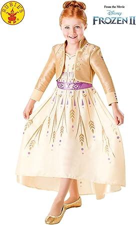 Comprar Rubies 300461 9-10 Disney Frozen 2 - Disfraz de Frozen 2, para niñas, multicolor