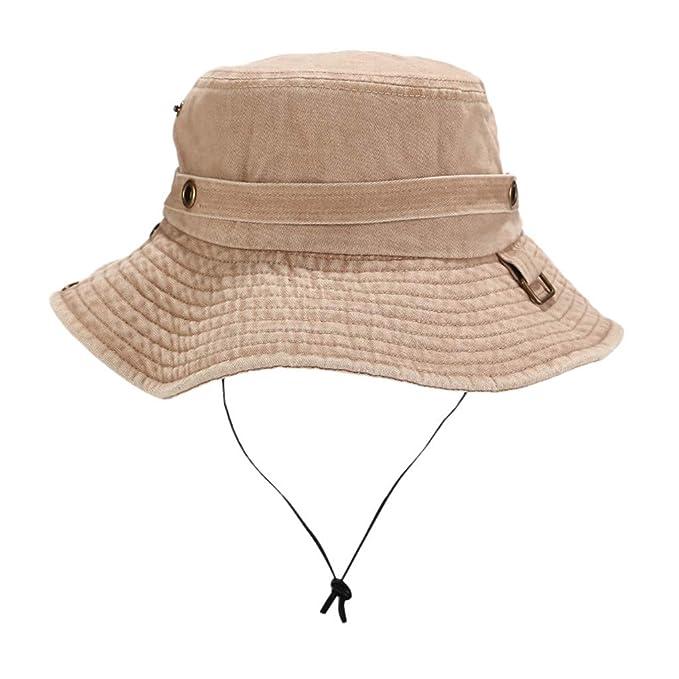 Kids,youth Cotton summer Safari Hiking Bucket hat  Sun crushable fisherman cap