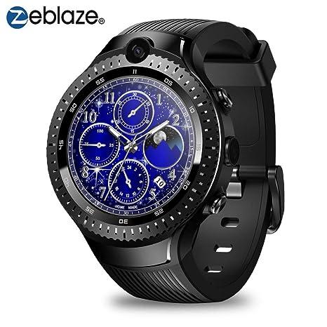 Zeblaze 4G Smartwatch LTE 5.0MP + 5.0MP Dual Camera Smart ...
