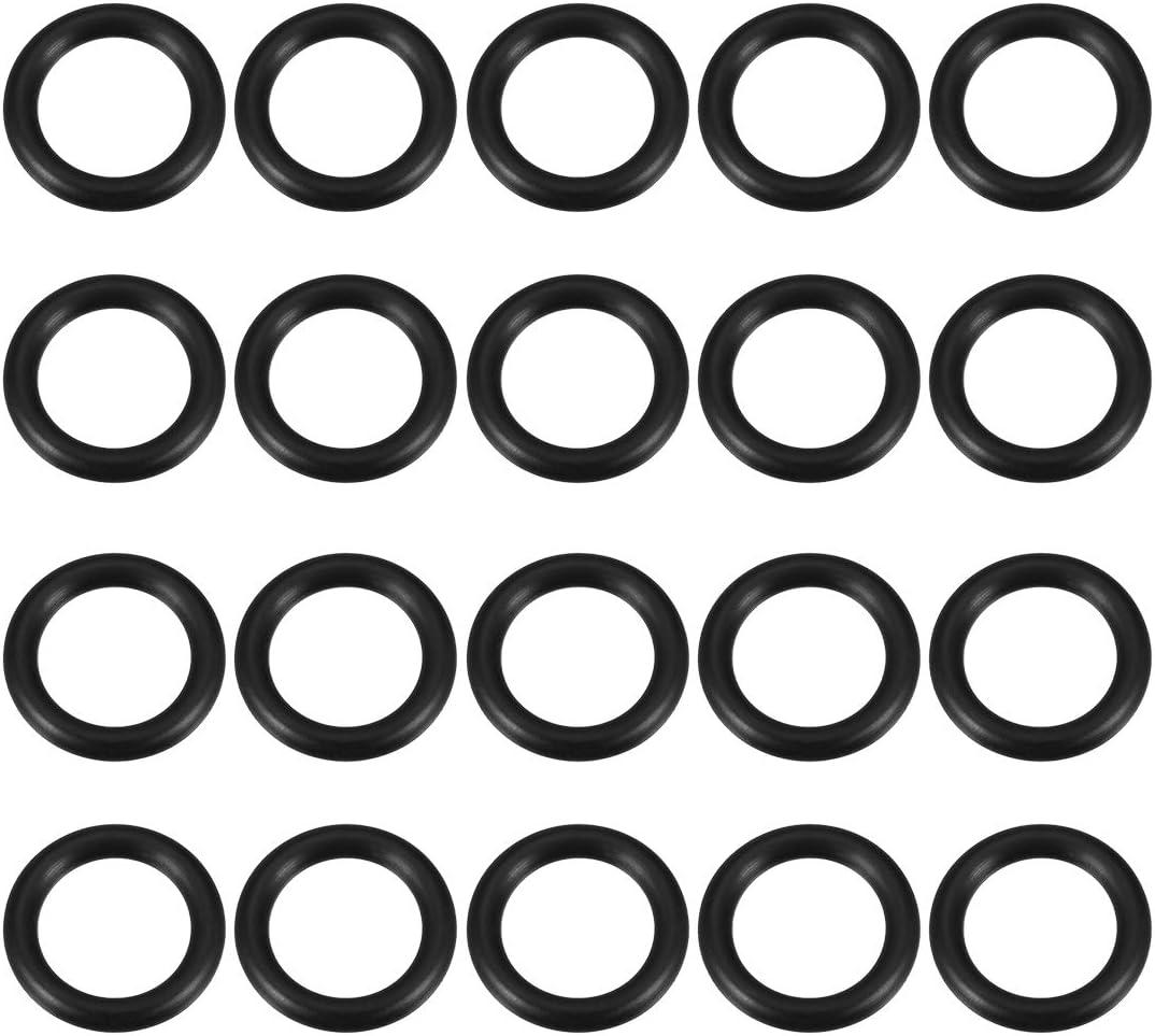 20pcs 21mm Inner Diameter 28mm OD O-Rings Nitrile Rubber Gasket 3.5mm Width