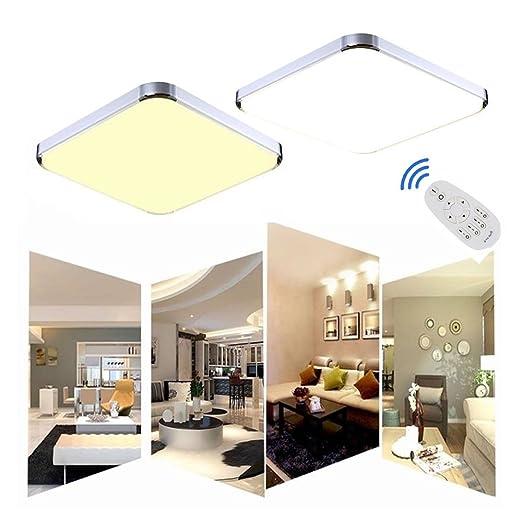 61 opinioni per MCTECH 24W Dimmerabile LED lampada da soffitto moderna lampada da soffitto