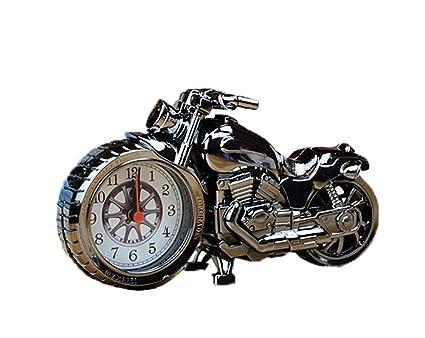 Amazon.com: Uleade Luxury Retro Style Motorcycle Alarm Clock ...