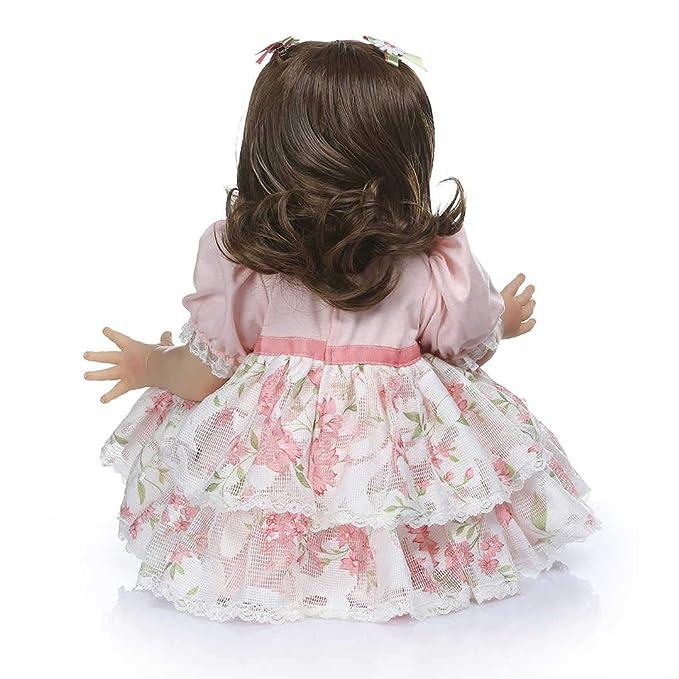 Amazon.com: Aimeedoll - Muñeca de pelo largo rizado de 23.6 ...