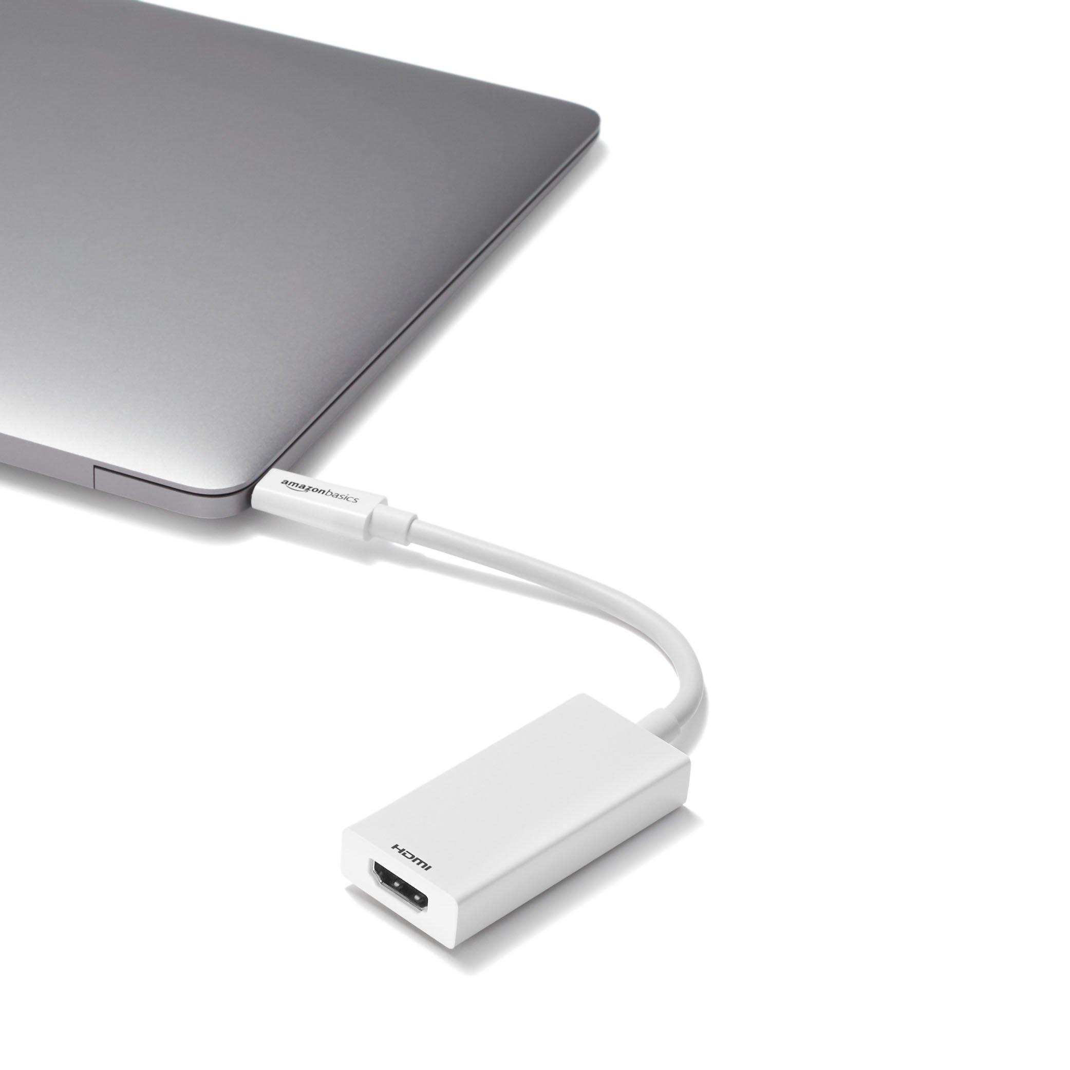 AmazonBasics USB 3.1 Type-C to HDMI Adapter - White by AmazonBasics (Image #5)