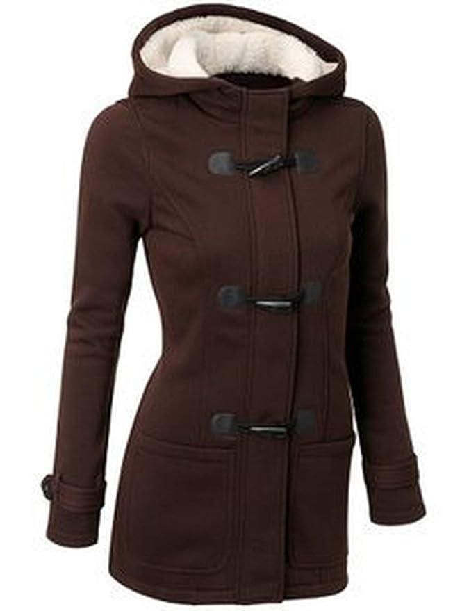 Winter Women Parka Horn Button Coats Abrigos Y Chaquetas ...