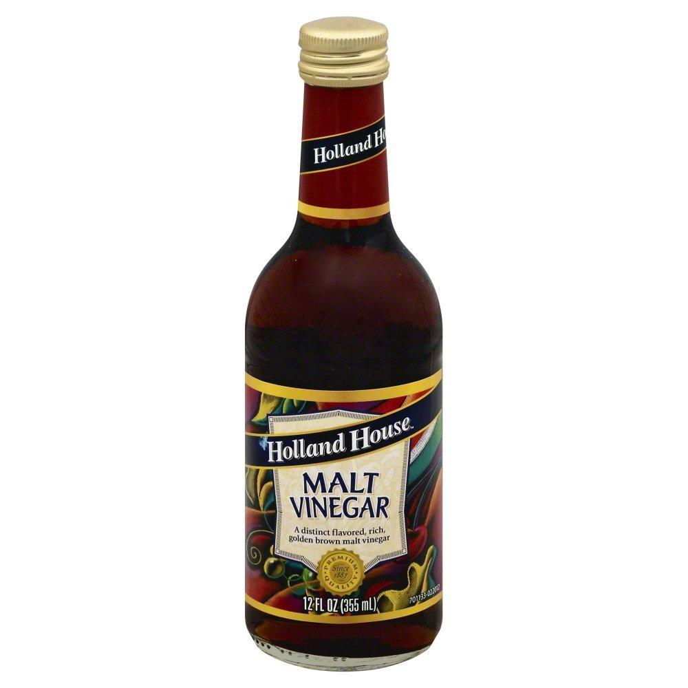 Holland House Vinegar Malt 12.0 OZ(Pack of 12)