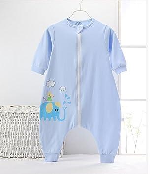 LXQGR Saco De Dormir del Bebé, Algodón 100% Orgánico, Pijama del Mameluco del