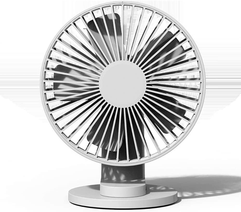 original invisible clip Mini Desk Fan windy sound Small Desktop Fan Perfect Portable Personal F battery USB dual power supply 6 Inch 3 Speed Portable 90/° Adjustable Tilt Angle for Better Cooling