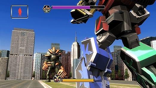 Power Rangers Super Samurai (jeu Kinect) [Importación ...