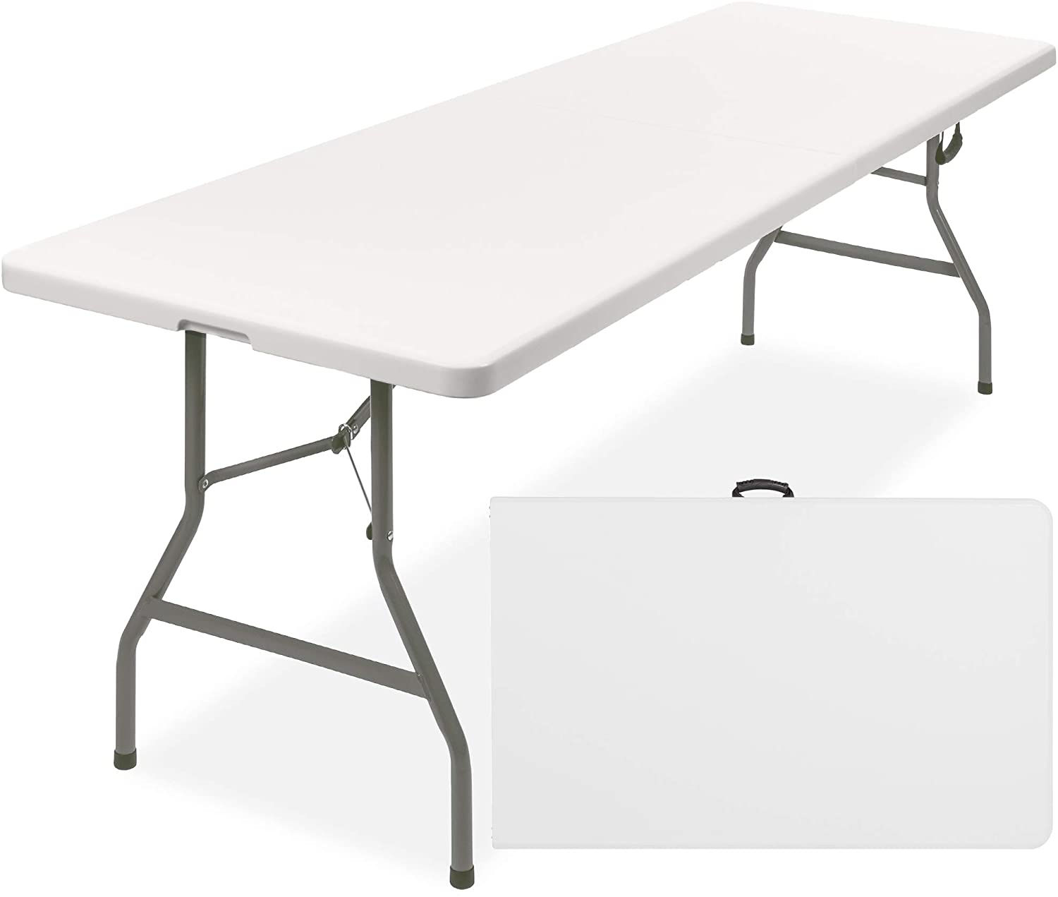 2.5/' Portable Rectangular Blow Moulded Heavy Duty Camping Scout Party Table