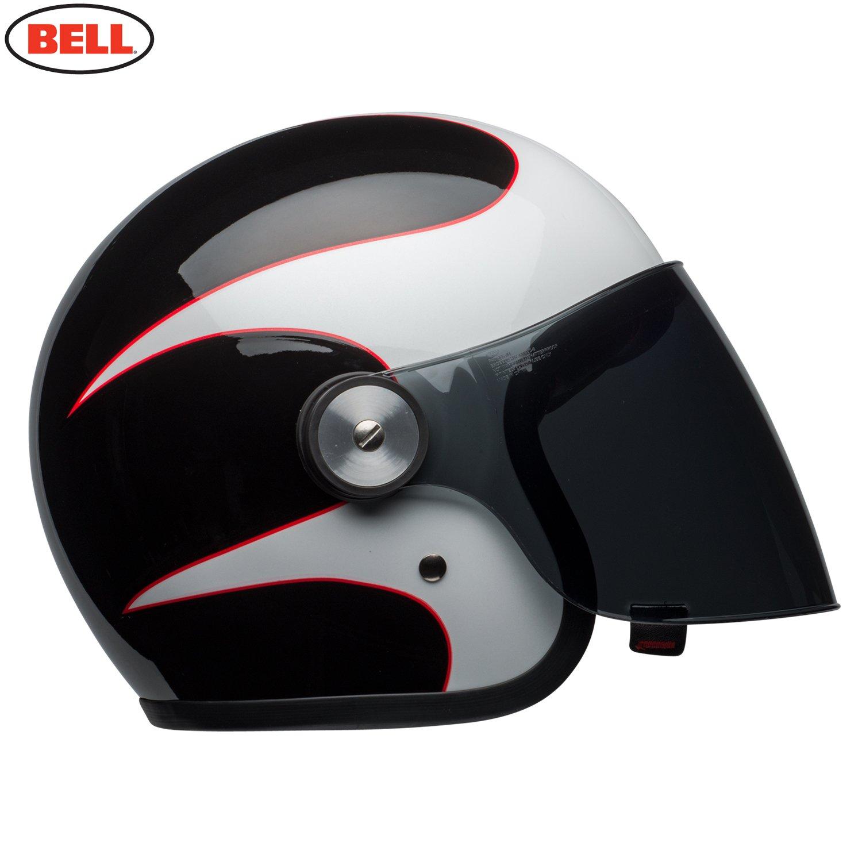 BELL HELMET RIOT BOOST WHITE//BLACK//RED M