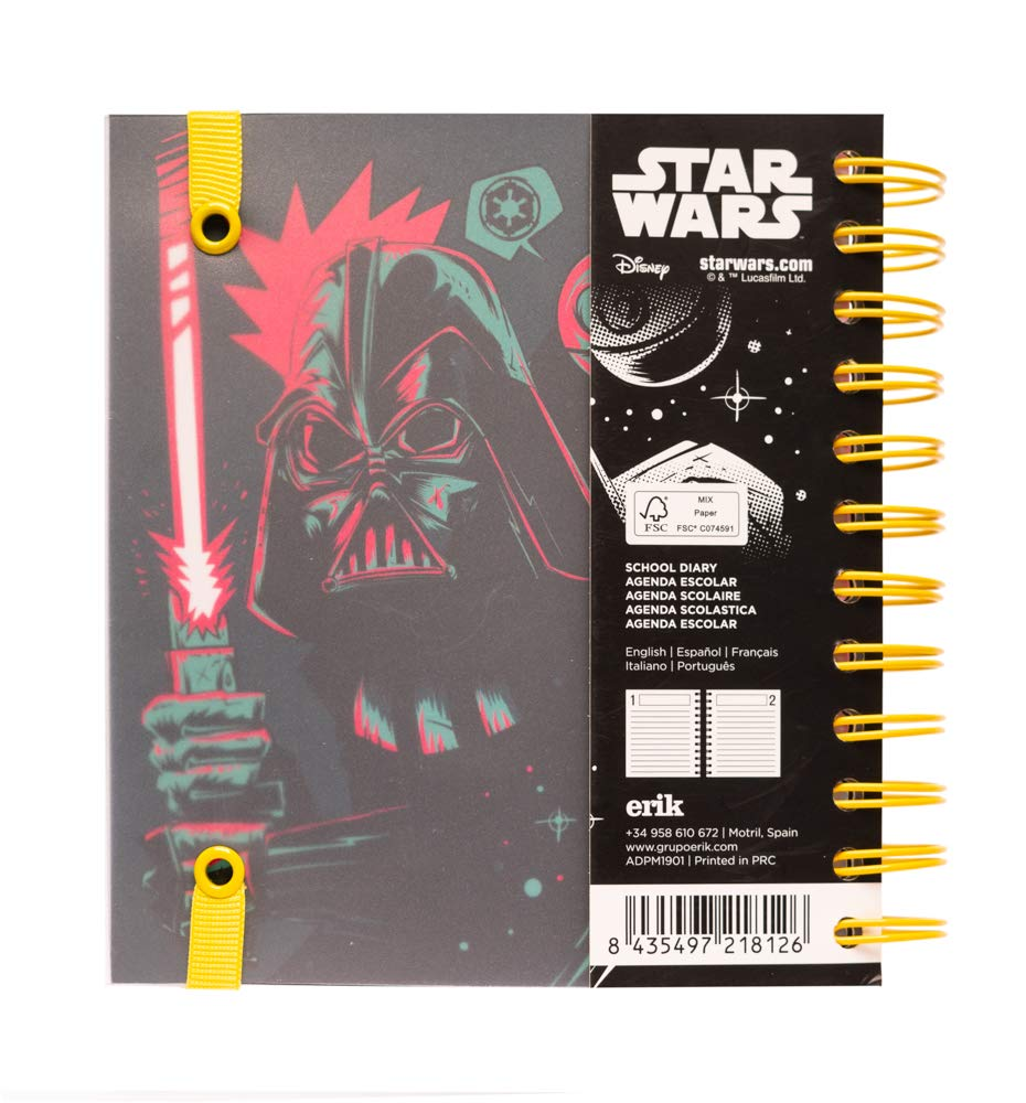 Amazon.com : Star Wars 2019-2020 Academic Diary, Organiser ...
