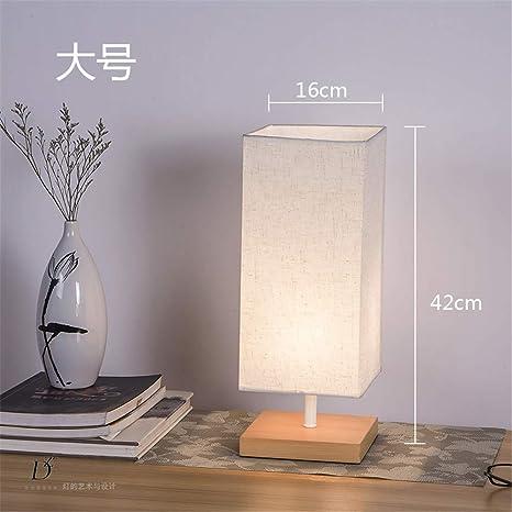 YU-K - Lámpara de mesa de noche para escritorio, salón ...
