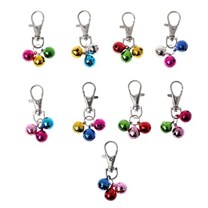 Suoryisrty Pet Dog Cat Collar Bell Diy Accessories For