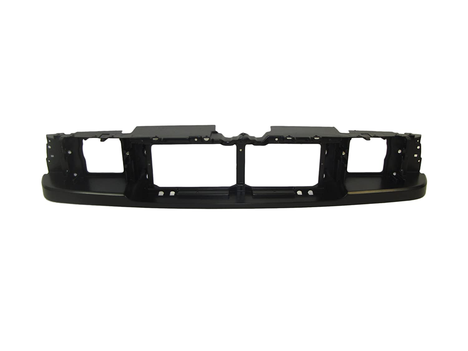 93-97 Ford Ranger Front Headlight Mounting Panel Header Panel FO1220193 Meets or exceeds Dot and SAE standard