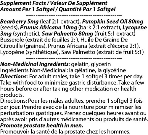 Prostene 178mg 90s - [12 bottles] Men And Sex Health Care by Total Natural (Image #2)