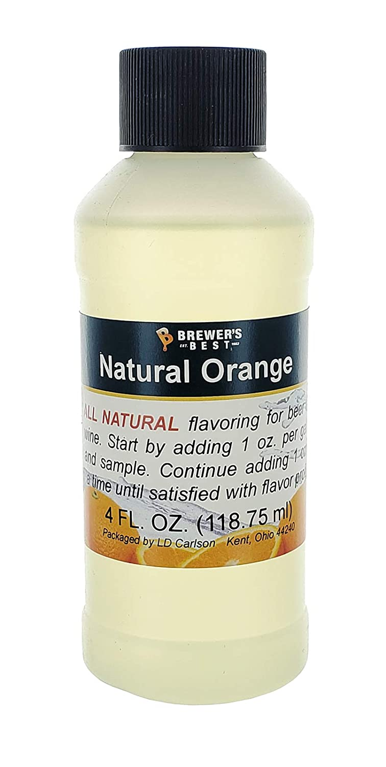 Home Brew Ohio Brewer's Best Natural Beer and Wine Fruit Flavoring (Orange)