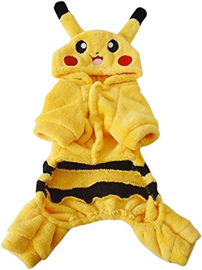 Niños Disfraz Pokemon Pikachu Talla M 5 – 7 años: Amazon.es ...
