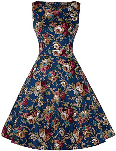 owin-womens-vintage-1950s-floral-spring-garden-picnic-dress-party-cocktail-dress