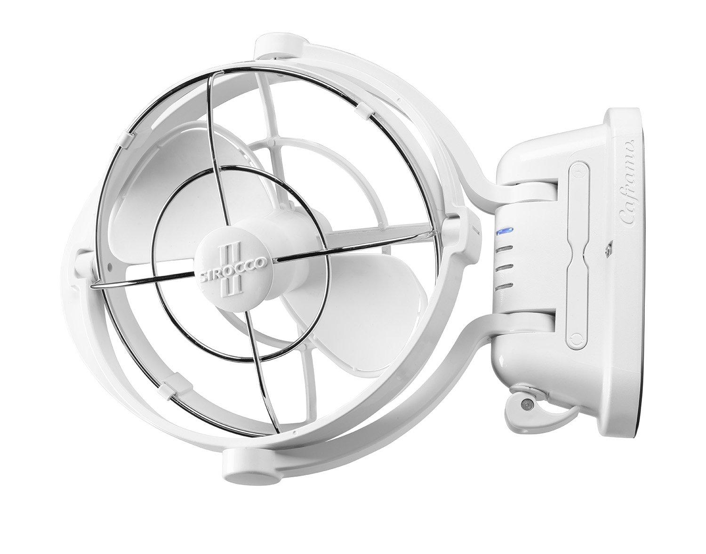 Caframo Sirocco II 12/24V Gimbal Fan, One Size, White by Caframo Sirocco (Image #4)