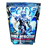 Cane Protein Powder, Mega Muscle Formula, Whey Protein Isolate, 25g Protein Per Scoop, 40 Servings (Vanilla, 3lb Bag)