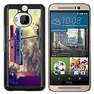 YiPhone /// Prima de resorte delgada de la cubierta del caso de Shell Armor - Pinza Hipster - HTC One M9Plus M9+ M9 Plus