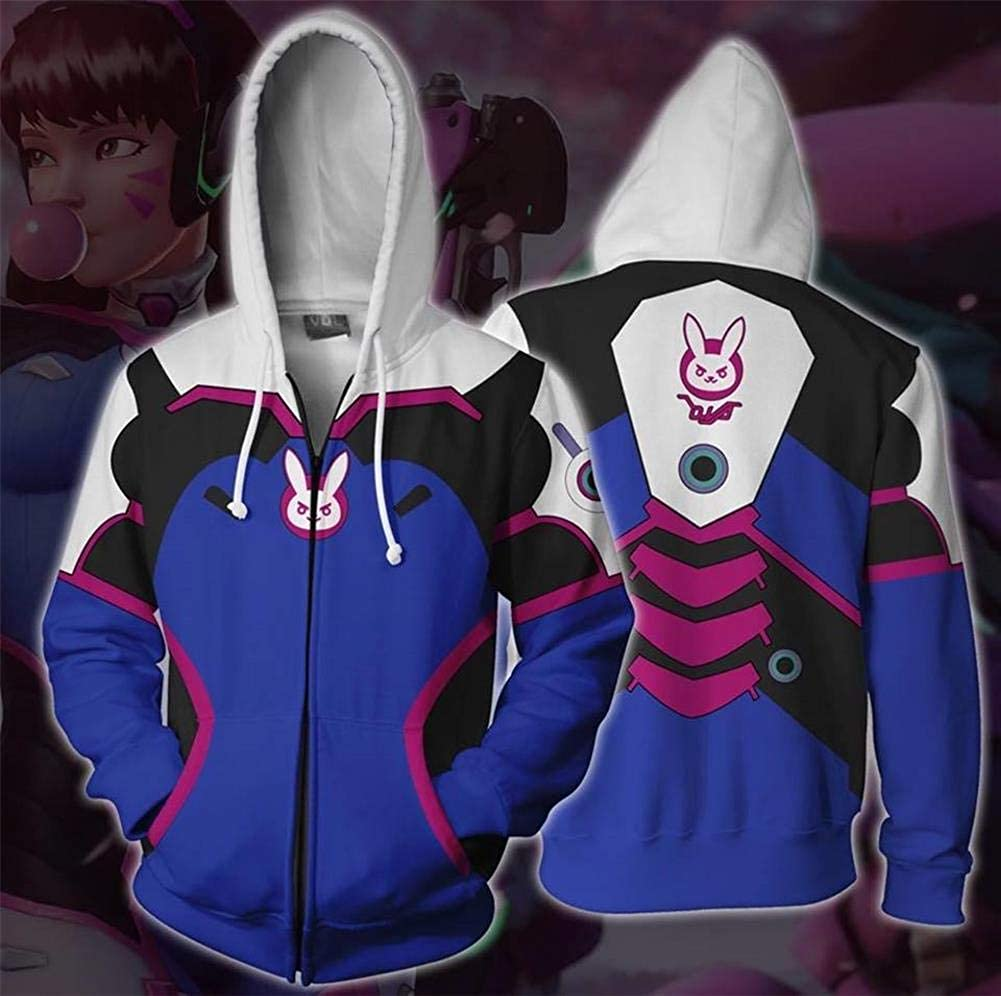 Mikucos Overwatch Mercy Solider Jacket Sweater Hooded Hoodie Long Sleeves Heroes Plus Size Costume Dress