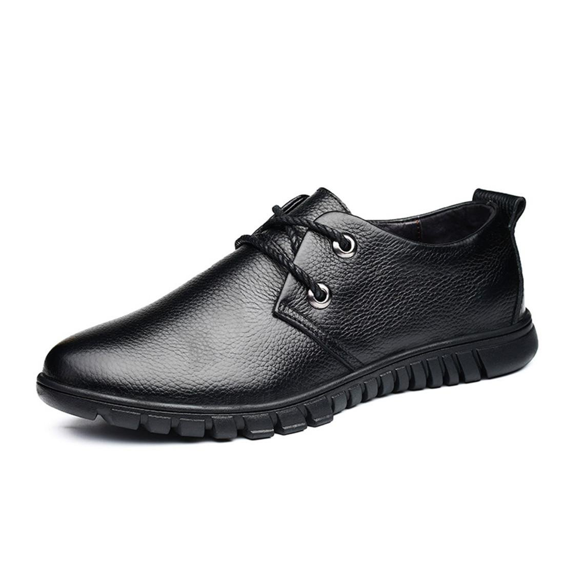 Herren Rutschfest Freizeit Flache Schuhe Lederschuhe Licht Atmungsaktiv Lässige Schuhe EUR GRÖSSE 38-45