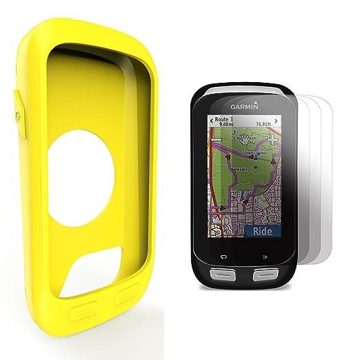 22 opinioni per Garmin Edge 1000 Approach G8 Custodia in silicone + Screen Protector, TUSITA®