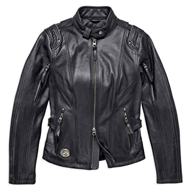 84a5a301aa4b Harley-Davidson Women s 115th Anniversary Leather Jacket 98010-18VW  (Petite