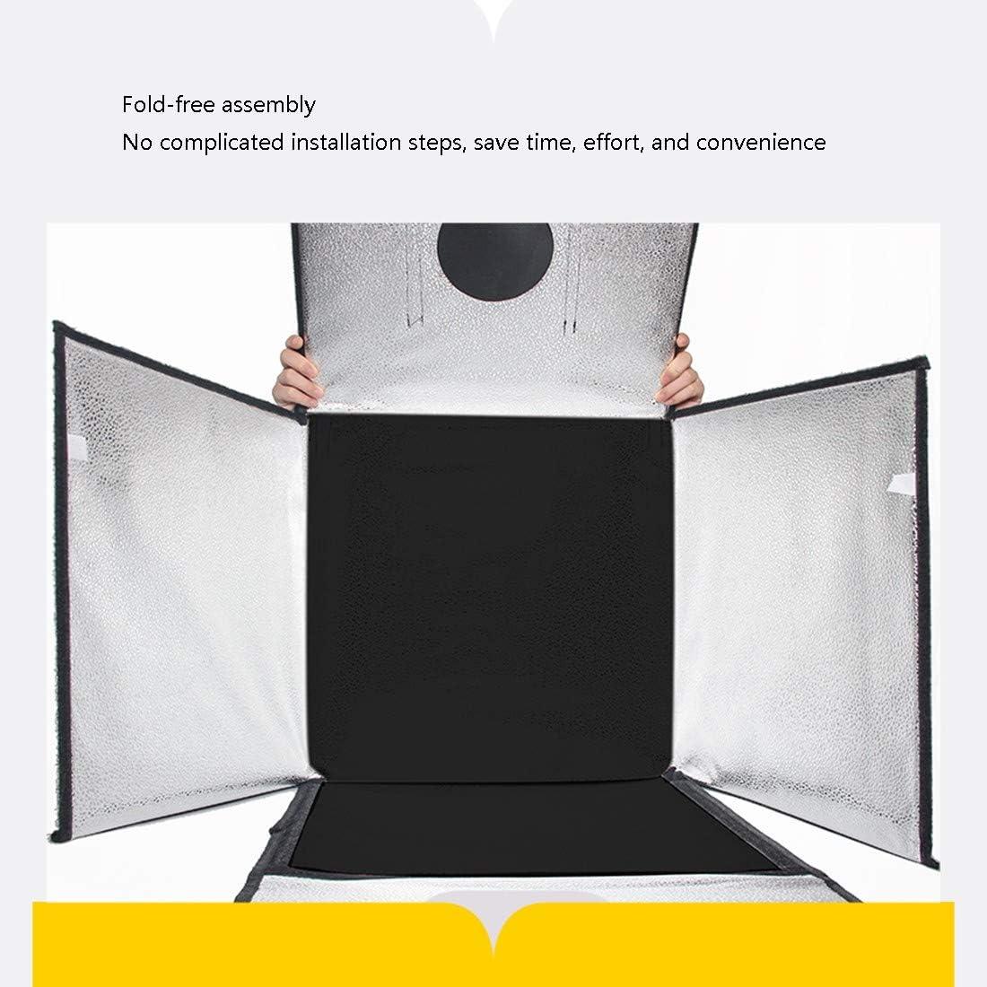 Shoes Photography etc Food HWENJ Photography kit, Portable Photo Studio Box Folding Shooting Tent Kit, Photography Studio,for Jewellery