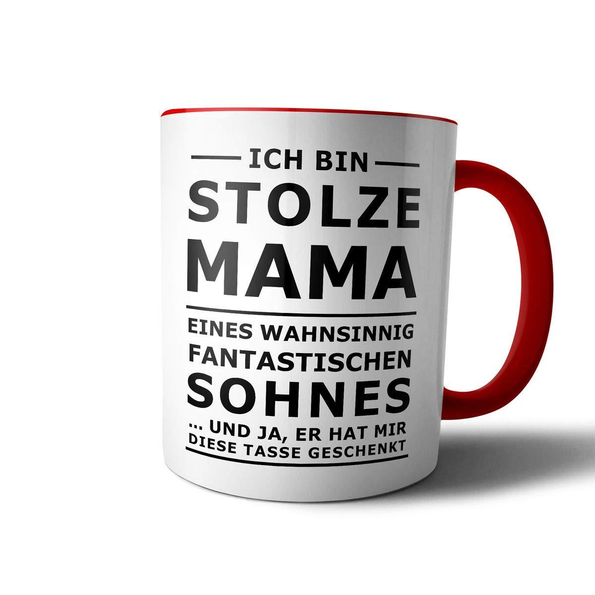 creativgravur® Tasse mit Spruch STOLZER PAPA, STOLZE MAMA Kaffeetasse Kaffeebecher Kaffeepot Frühstückstasse Bürotasse, Motiv:Motiv 11 Bild