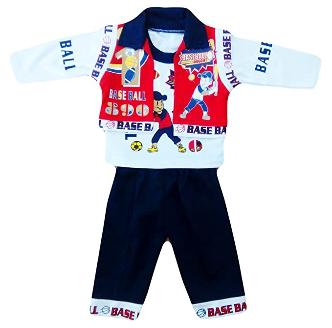 6747505850a1 Miss U Baby Boys High Quality Baba Suit Cotton T-shirt And Trouser ...