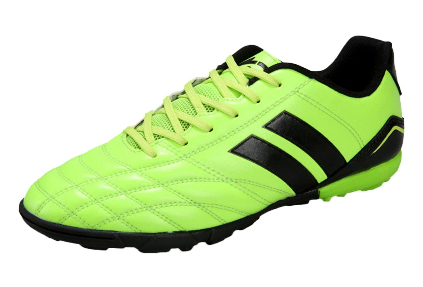 SK Studioメンズスポーツライト重量インドアアウトドアレースアップサッカー靴AG TF B01M1GUQSL 7.5 D(M) US|グリーン グリーン 7.5 D(M) US