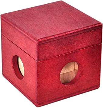 Ocamo Caja mágica Madera Brain Teaser Juguete del Rompecabezas ...
