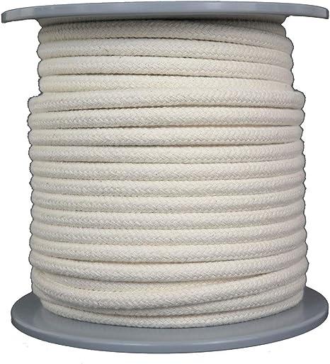 Gepotex - Cuerda de algodón (50 m de Largo, 8 mm de diámetro ...