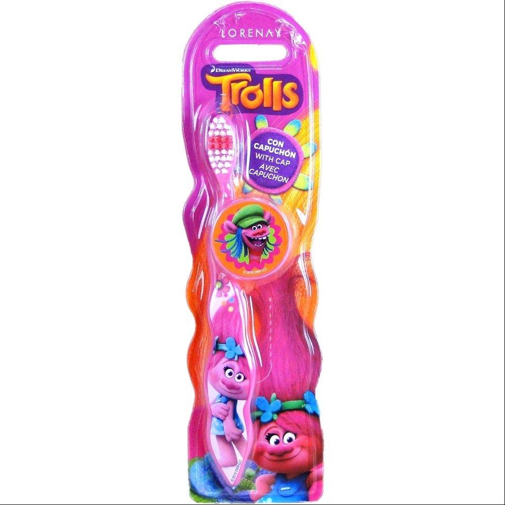 Lorenay LN-1394 - Cepillo de dientes, estampado Trolls: Amazon.es: Salud y cuidado personal