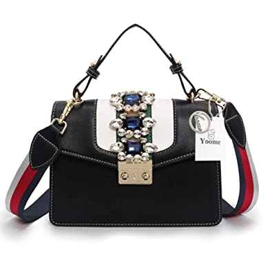 47a38f8cbcbf Yoome Top Handle Shoulder Handbags for Women Jewelry Bag Ladies Crossbody  Wallet Purse  Handbags  Amazon.com