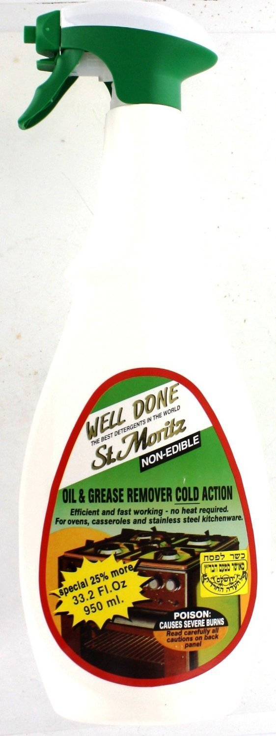 Well Done St.Moritz Oven Cleaner 27Oz (750Ml) Pack (3) by Welldone