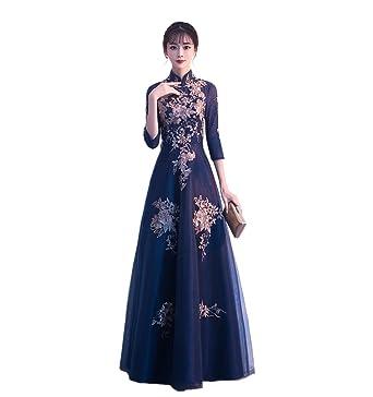 64ce902cb6dc5 豪華な刺繍 パーティードレス 大きいサイズ 結婚式 20代 上品 30代 結婚式