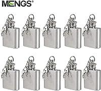 10X MENGS® 1 oz petaca con llavero para ocasiones especiales (bodas