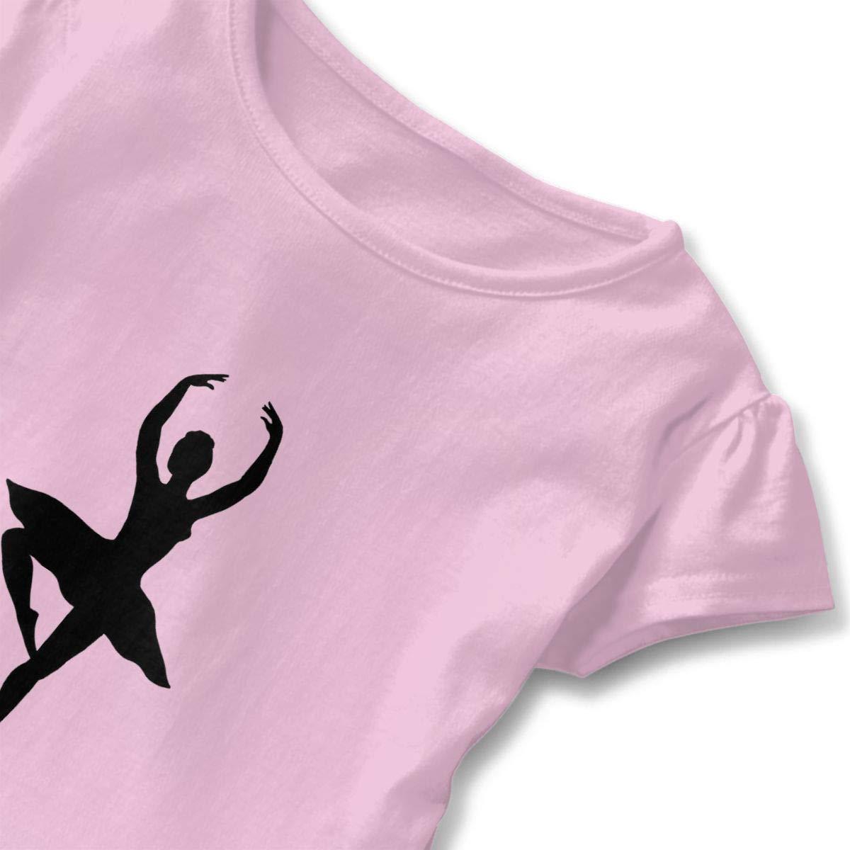 Kwai-h Ballet Girl Outdoor Lover Short-Sleeve Tunic T-Shirt