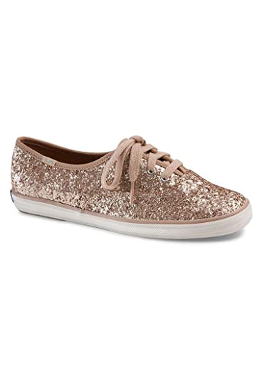 b630c1e623272 Keds Champion Glitter Champagne Ladies Sneaker Pink WF54539 Keds ...