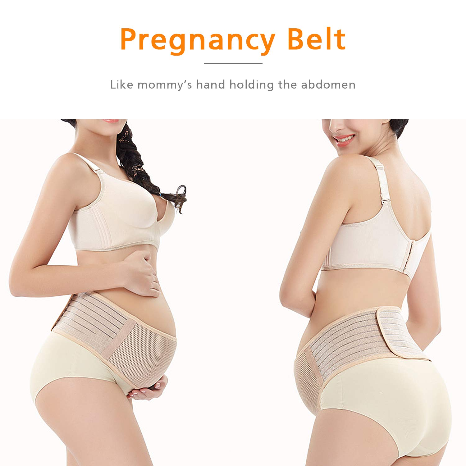 Pelvic Pregnancy Belt Relieve Hip Adjustable Size Lumbar Lower Back Pain Breathable Abdominal Binder Brace Maternity Belly Support Band Comfortable Prenatal Cradle For Baby Intimates Maternity