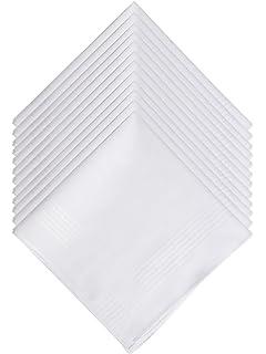 Hankiss - Pañuelos de Algodón Orgánico Blanco- Modelo SNOW ...