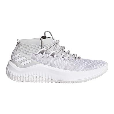 big sale 03624 6c6eb adidasBW1107 - Dame 4 Jungen, Grau (Casual Black-Footwear White-Scarlet)