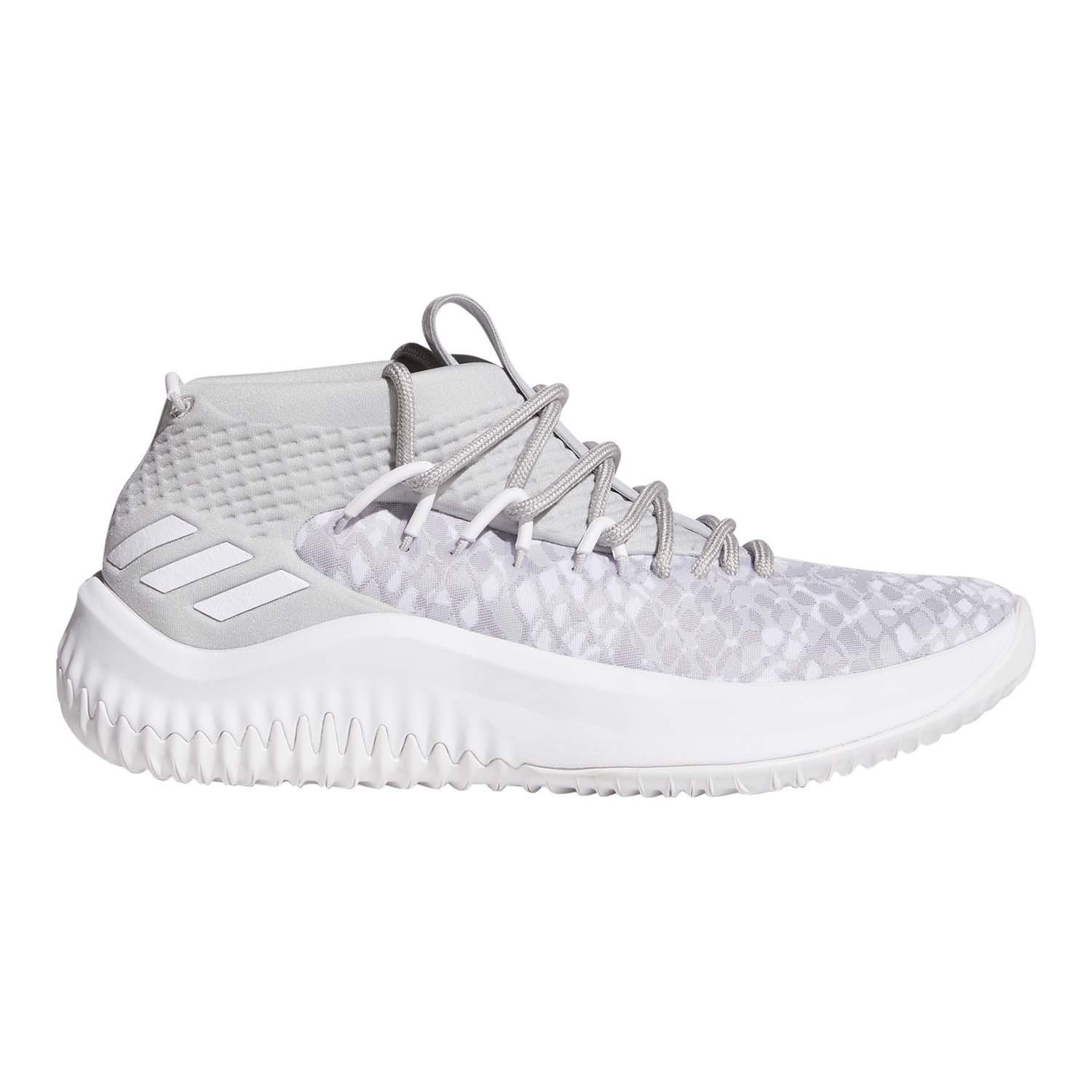 newest 5b6c9 b00be Galleon - Adidas Dame 4 Shoe - Juniors Basketball 4.5 Casual BlackFootwear  WhiteScarlet