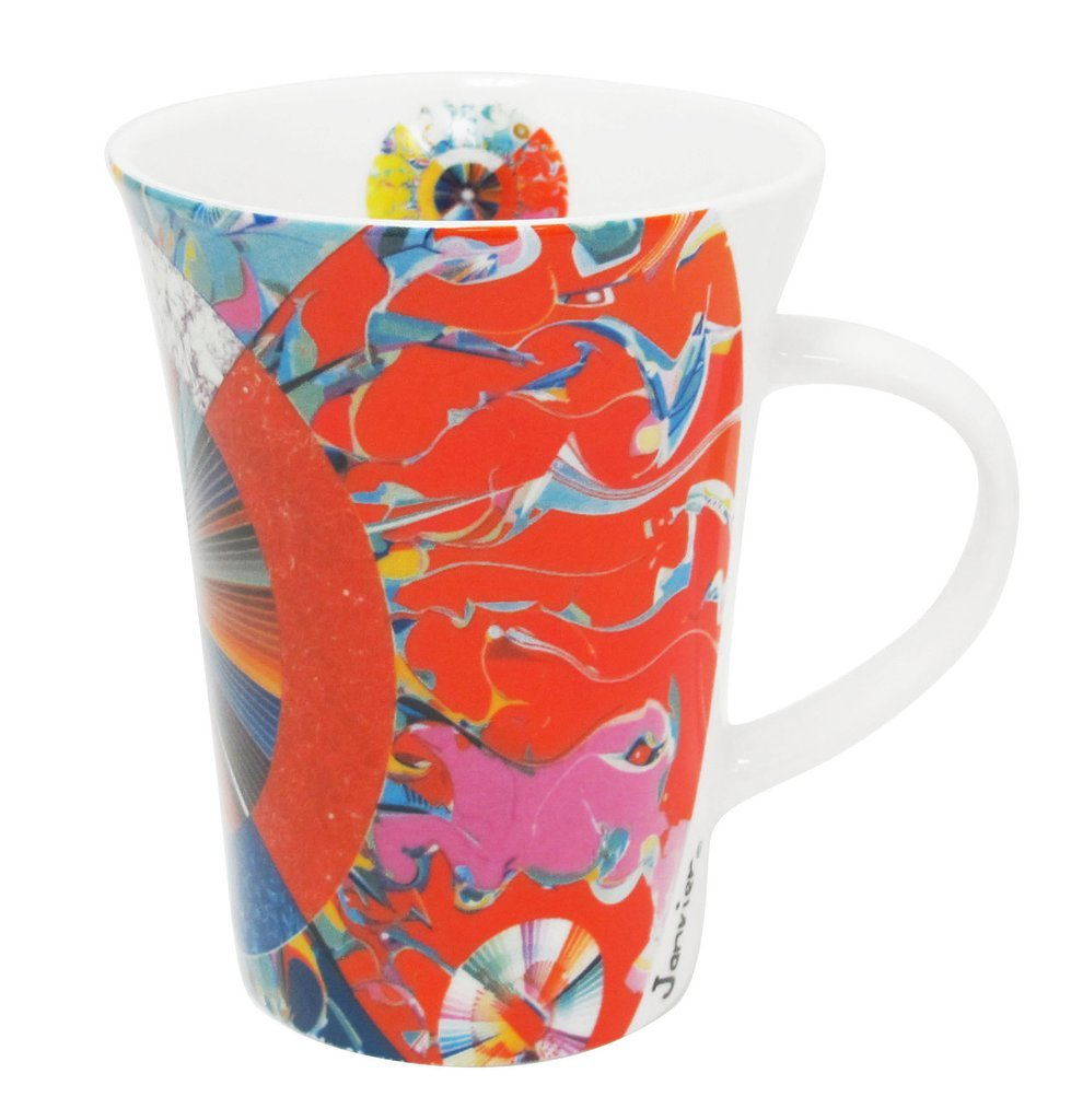 Amazon.com: Native Artist Alex Janvier Porcelain Coffee Mug ...